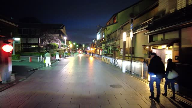 drive video of the town of kyoto. - shrine stock videos & royalty-free footage