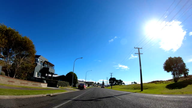 drive-lapse tauranga - car point of view stock videos & royalty-free footage