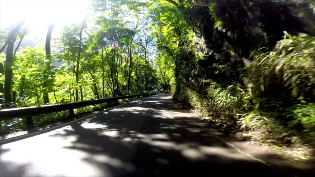 driver point of view in the islands if hawaii - mountain pass stock videos & royalty-free footage