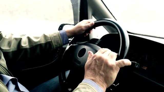 ドライバ - 部分点の映像素材/bロール