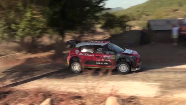 drivers compete in the icmeler leg of the 2018 fia world rally championship in turkey's mediterranean resort town of marmaris mugla on september 15... - world championship stock videos & royalty-free footage