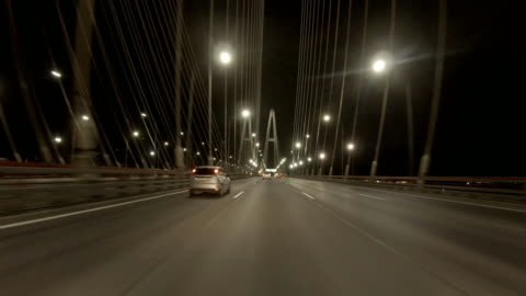 driver's pov through metropolitan highway junctions. - finland stock videos & royalty-free footage