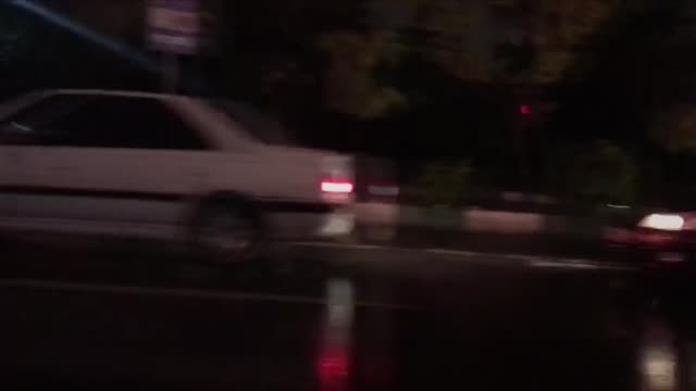drivers switch off engines to block main streets of tehran during a demonstration against a government decision to hike petrol prices in tehran iran... - iran stock videos & royalty-free footage