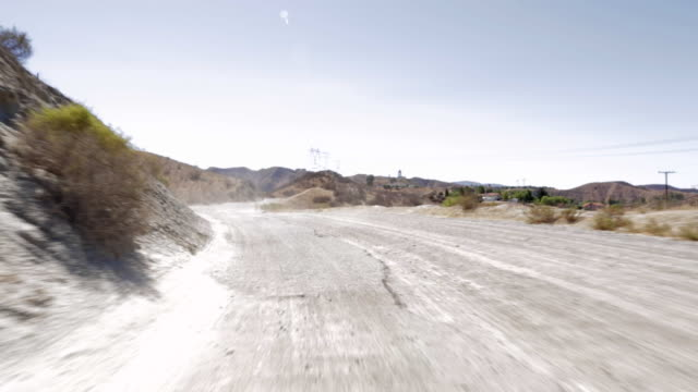 pov driving along dirt road in santa clarita / california, united states - santa clarita stock videos & royalty-free footage