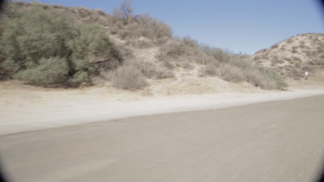 pov driving along mountain road / santa clarita, california, united states - santa clarita stock videos & royalty-free footage