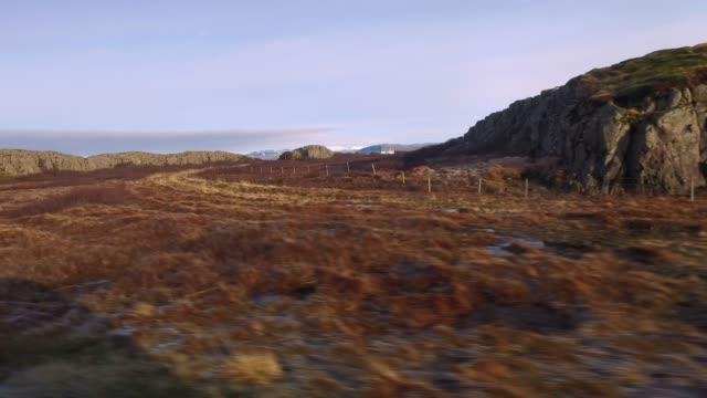 リモート風景に沿ってドライブ ms, アイスランド - 活動点の映像素材/bロール