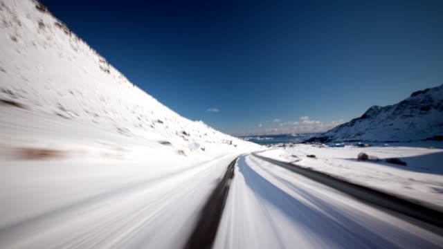 Driving Arctic Landscape