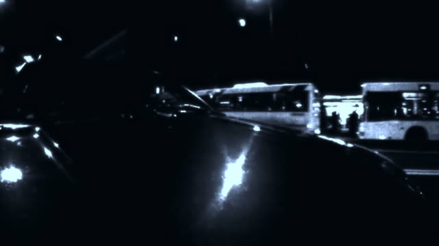 HD TIME-LAPSE LOOP: Driving At Night