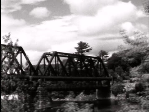 driving by a railroad bridge - imperfection stock videos & royalty-free footage
