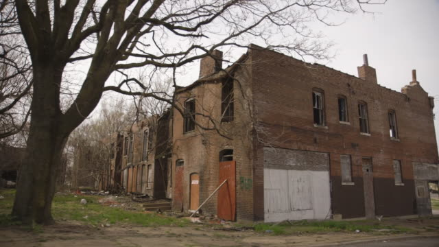 driving by foreclosed house in st. louis outskirt - missouri stock videos and b-roll footage