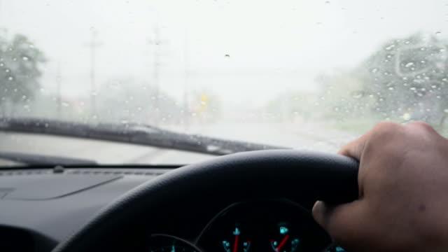 Autofahren im Regen