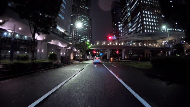driving city at night - 4k - night stock videos & royalty-free footage