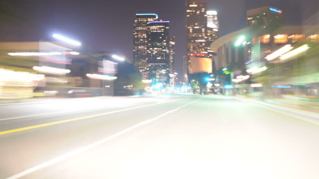Driving Downtown Los Angeles