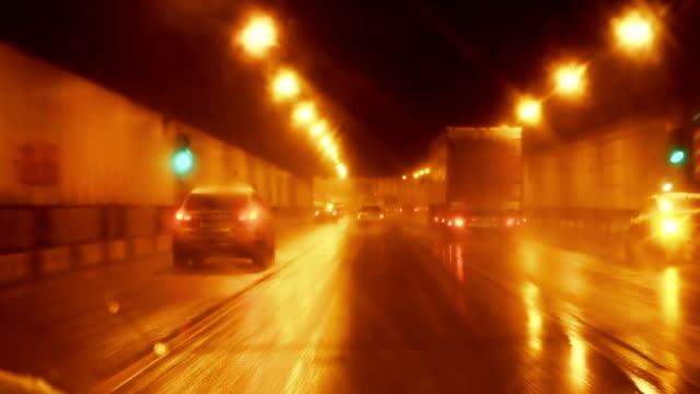 driving fast through the tunnel - chasing stock videos & royalty-free footage