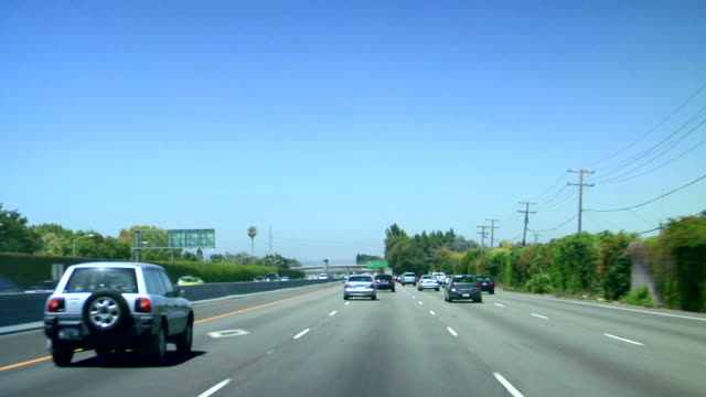 driving highway - car point of view stock videos and b-roll footage