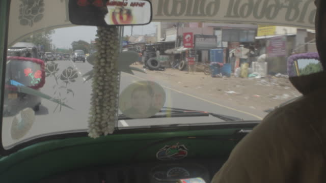 driving in a taxi cab in chennai india - chennai stock videos & royalty-free footage