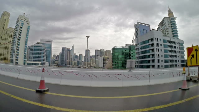 driving in dubai - pjphoto69 stock videos & royalty-free footage