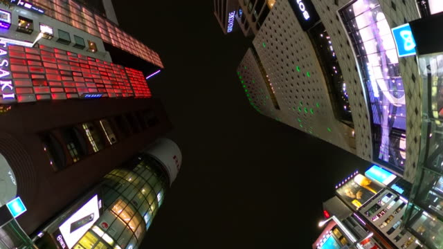 driving in ginza at night - ginza stock videos & royalty-free footage