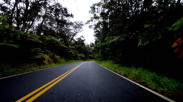 Driving in Hawaii: Big Island