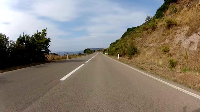 Autofahren in Sardinien, Italien