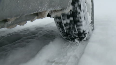 hd: driving in snow - slippery stock videos & royalty-free footage