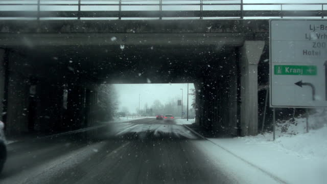 driving in snow - peter snow stock videos & royalty-free footage