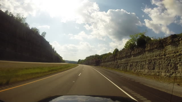 driving in tennessee - tennessee video stock e b–roll