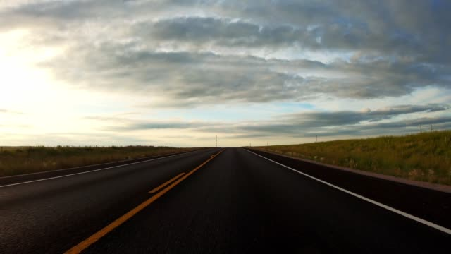 driving in the badlands - prairie stock videos & royalty-free footage
