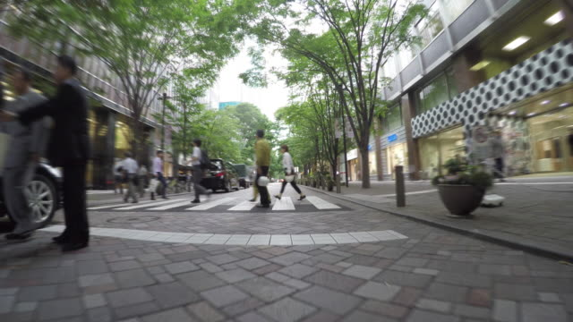 driving in the city -marunouchi- 4k- - marunouchi stock videos & royalty-free footage