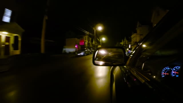 driving in the city - lowell stock videos & royalty-free footage