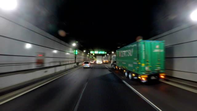 GUIDA NEL tunnel - 4 k