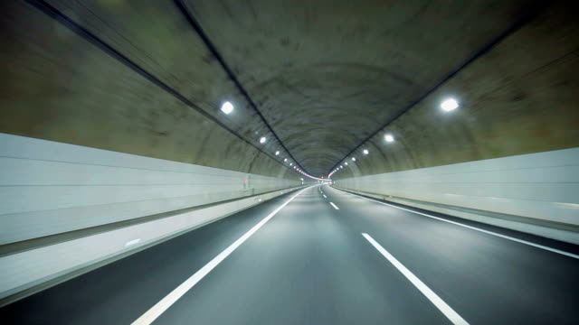 driving in tunnel - plusphoto stock videos & royalty-free footage