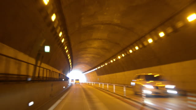 Driving in Tunnel