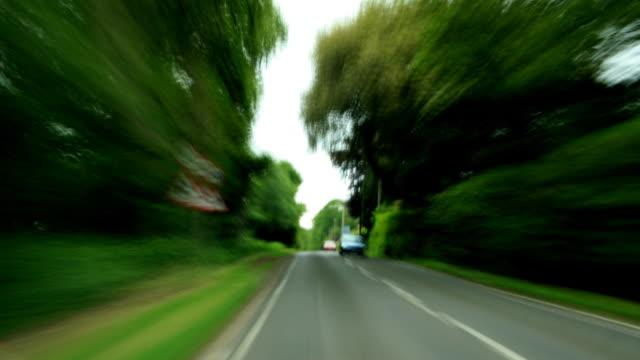 driving in uk - förarperspektiv bildbanksvideor och videomaterial från bakom kulisserna
