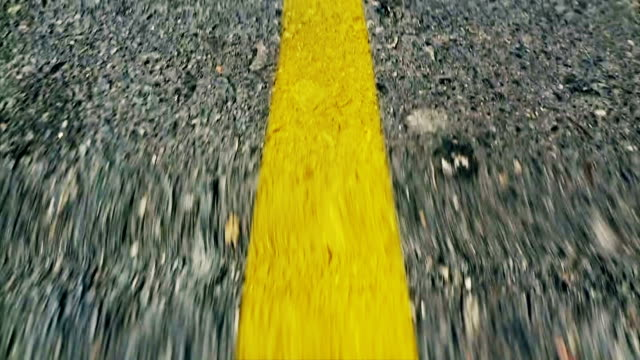 driving lines - yellow stock videos & royalty-free footage