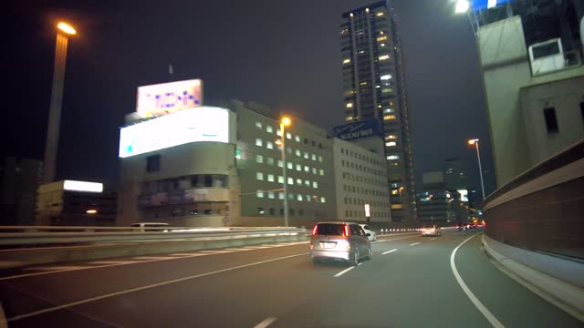 driving movie of the metropolitan expressway. - land vehicle stock videos & royalty-free footage