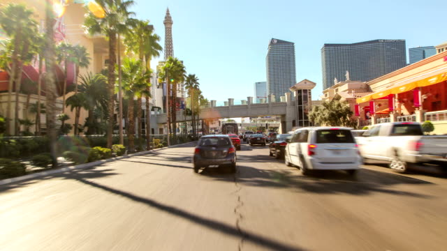 driving nevada las vegas - the strip las vegas stock videos and b-roll footage