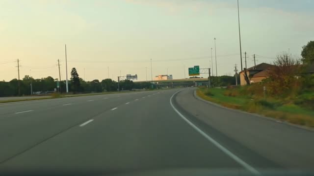 Driving on 218 to 380