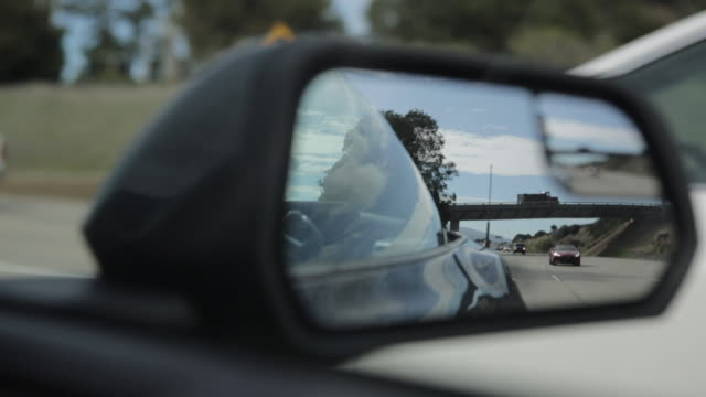 driving on a highway in california - nordkalifornien stock-videos und b-roll-filmmaterial