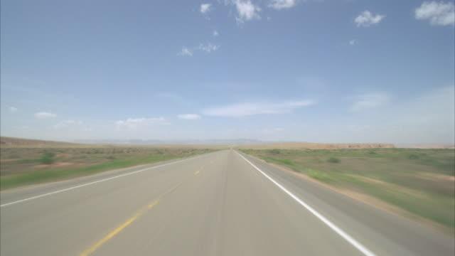 POV, Driving on desert highway