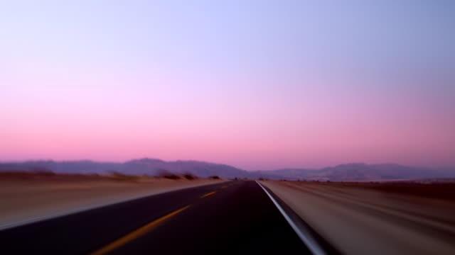 Percorrendo l'autostrada 190