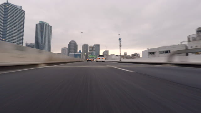 Driving on highway- 4K-