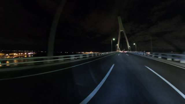 driving on highway at night - plusphoto stock videos & royalty-free footage