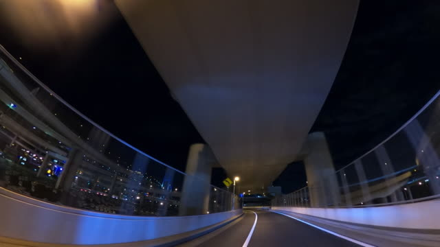 driving on highway at night - land vehicle stock videos & royalty-free footage