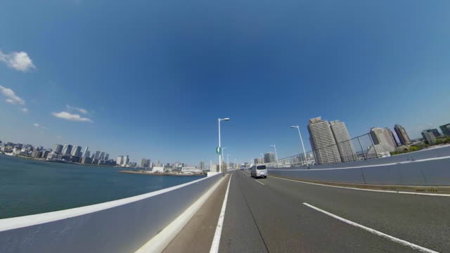 driving on highway / bulk 6/7 / waterfront / waterfront - plusphoto stock videos & royalty-free footage
