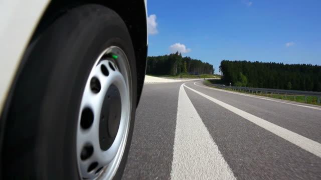 POV Driving On Road