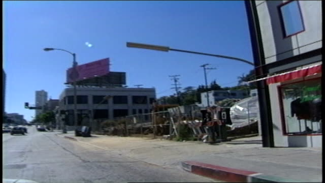 driving pov on sunset blvd past the whisky a go go in los angeles california - sunset boulevard stock-videos und b-roll-filmmaterial