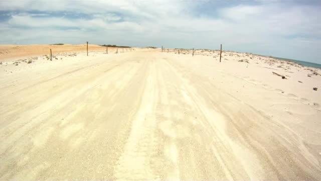HD: Driving On The Coast Terrain