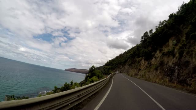 POV driving on the Great Ocean Road