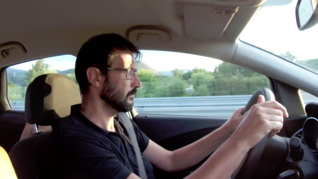 driving on the highway - windscreen stock videos & royalty-free footage